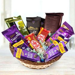 Marvelous Chocolates Basket to Aslali