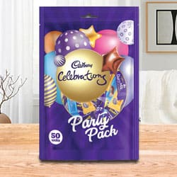 Delectable Party Pack from Cadbury Celebrations to Adipur