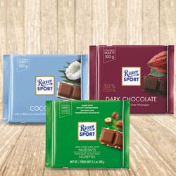 Mixed Chocos Pack from Ritter Sport to Alipurduar