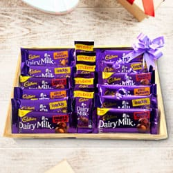 Irresistible Cadbury Chocolates Assortment to Aslali