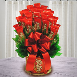 Marvelous Nestle Kitkat Bouquet to Bangalore