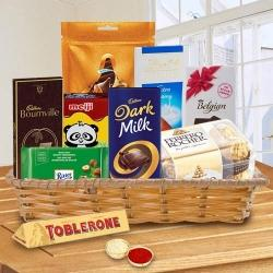 Remarkable Goodies Gift Hamper for Bhai Dooj to Ahmedabad