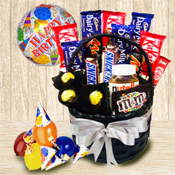 Delectable Chocolate Gift Basket for Boys and Girls to Anuparpalayam