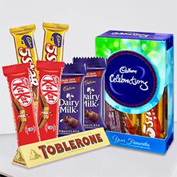 Marvellous Chocolates Gift Hamper to Aizawl