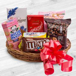 Remarkable Chocolate Gift Basket to Adoni