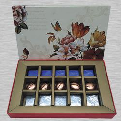 Exclusive Gift Box of Dry Fruit Filled Handmade Chocolates to Alapuzha