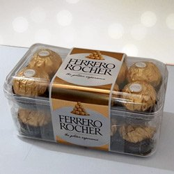 Scrumptious Ferrero Rocher Chocolates box to Ambala