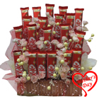 Mouth Watering Nestle Kitkat Chocolate Arrangement to Chennai