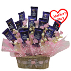Adorable Chocolaty Love Chocolate Hamper to Barauipur