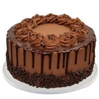 Tempting Chocolate Cake from Taj or 5 Star Hotel Bakery to Amravati