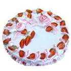 Strawberry Cake from Sweet Chariot - Finest Bakery in Bangalore<br> to Bangalore