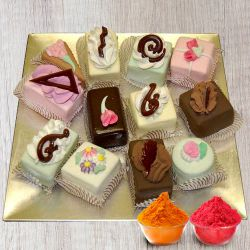 Taj or 5 Star bakery heavenly assorted Pastries to Indore