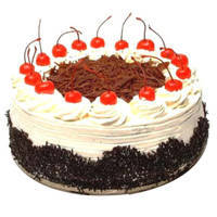 Irresistible Black Forest Cake  to Ghaziabad