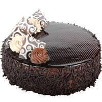 Appetizing Chocolate Cake to Agra