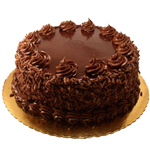 Luxurious Eggless Chocolate Cake  to Ludhiana