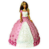 Amazing Barbie Doll Cake to Jaipur