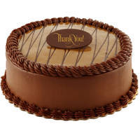 Classic Fresh Chocolate Flavor Eggless Cake   to Baroda