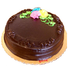 Chocolate Flavor Eggless Cake to Allahabad