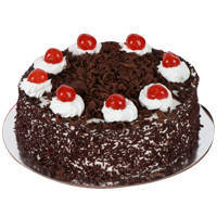 Inviting Dollop 2.2 Lb Black Forest Cake to Surat