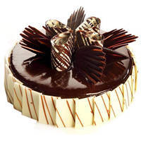 Pleasurable Piece 2 Kg Truffle Cake to Guwahati