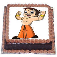 Cheerful Choice Chota Bheem Cake to Trichy