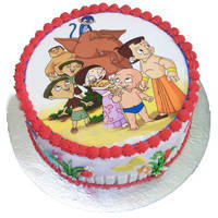 Treasured Chota Bheem Cake to Mysore