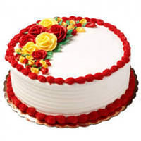 Tempting Vanilla Cake to Baraut
