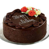 Lip-Smacking Dark Chocolate Cake to Guwahati