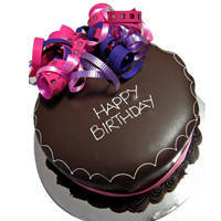 Mouth Watering Happy Birthday Chocolate Cake to Kolhapur