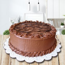 Oven-Fresh Chocolate Cake from 3/4 Star Bakery to Ahmadnagar
