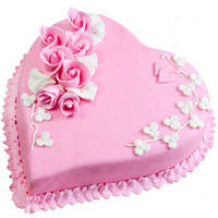 Marvelous Love Cake from 3/4 Star Bakery to Jaipur