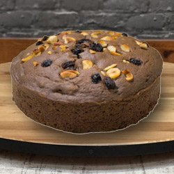 Supple 2.2 Lbs Fresh Baked Eggless Cake from 3/4 Star Bakery to Ahmedabad