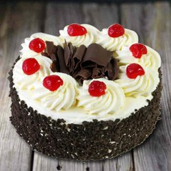Devilishly Good 2.2 Lbs Black Forest Cake from 3/4 Star Bakery to Ahmedabad
