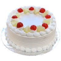 Blissful Vanilla Cake to Miraz