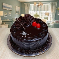 Delicious 1/2 kg Chocolate Truffle Cake to Baghpat