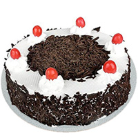 Happy Birthday Surprising Black Forest Cake to Miraz