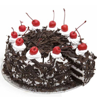 Anniversary Appetizing Black Forest Cake to Bareilly