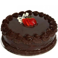 Anniversary Party Eggless Chocolate Cake to Bareilly