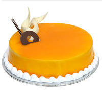 Enticing Mango Flavoured Cake to Aligarh