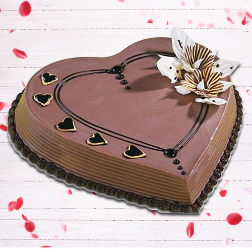 Tasty Heart-Shaped Coffee Cake to Anand