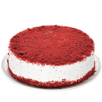 Delicious Eggless Red Velvet Cake to Ambala