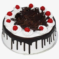 Yummy Eggless Black Forest Cake to Jaipur