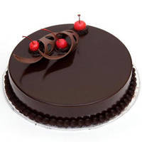 Enticing Eggless Chocolate Cake to Jaipur