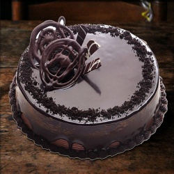 Chocolate Truffle Eggless Cake to Barauipur
