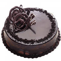 Amazing Eggless Choco Truffle Cake to Aleppy