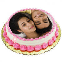 Yummy Eggless Photo Cake to Ambala