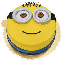 Beautiful Minions Cake for Kids to Aurangabad