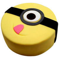 Kids Creative Decoration Minions Cake to Chengalpattu