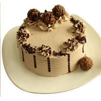 Lip-Smacking Ferrero Rocher Chocolate Cake to Ambala