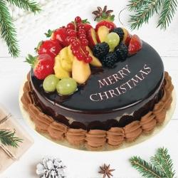Delectable Fresh Fruits Cake to Aleppy